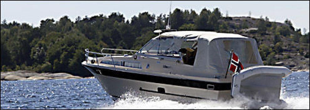 VÆR OBS: Ifølge FNO er organiserte kriminelle spesielt på jakt etter kraftige og verdifulle båtmotorer. Foto: