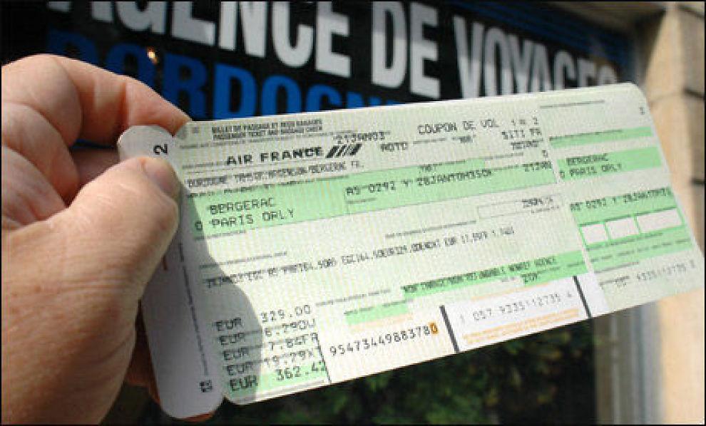 kansellering av flybilletter ved sykdom