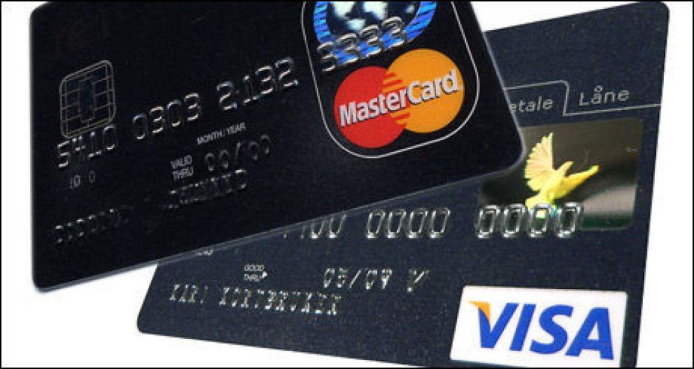 Kredittkortet gir deg ekstra rettigheter ved kjøp av varer og tjenester. Bruk det derfor ved alle større kjøp. Foto: Sjur Jansen.