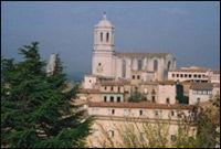 «SLOTTSOVERNATTING»: 150 pr natt i Girona. Faksimile/skjermdump: hihostels.com