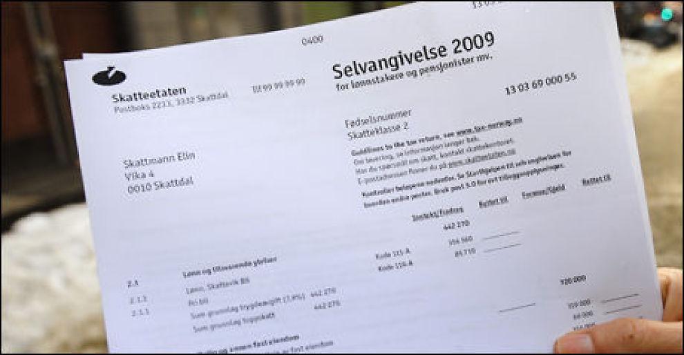 BETAL: I dag er siste frist for å betale restskatten uten strafferenter.