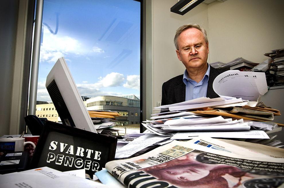 OVERRASKET: Direktør ved Oslo ligningskontor Jan-Egil Kristiansen er overrasket over hvor mange som har meldt inn skjulte formuer.