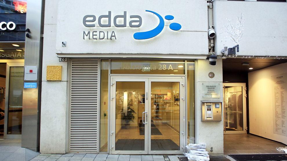 VOKSER PÅ NETT: Edda Media hadde en sterk vekst i omsetningen på nett.