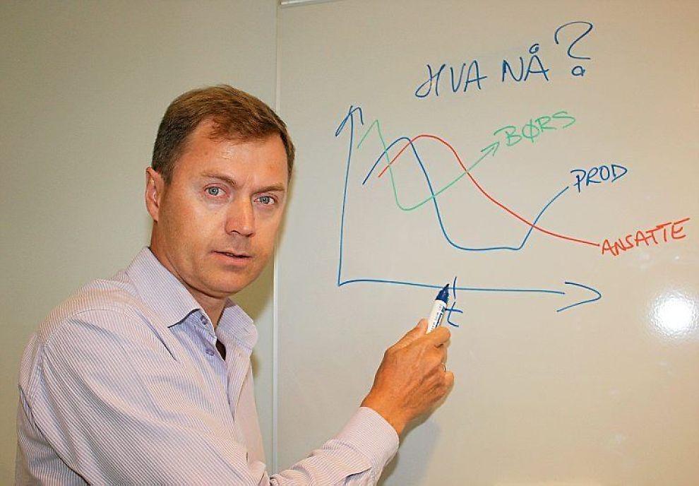SLAKTER ØKONOMENE: Bransjepolitisk direktør i Norsk Industri, Knut Sunde mener norske økonomer strøk til renteeksamen onsdag.