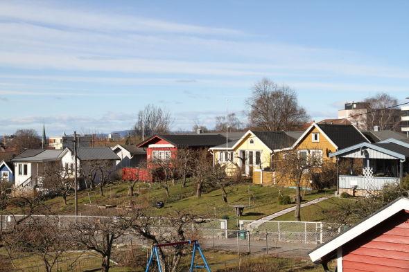 LOKAL RESSURS: - Vi vet at det er ettertraktede områder med tanke på boligsituasjonen i Oslo. Derfor åpner vi parkene for alle i vår- og sommerstid, og forsøker å være en ressurs for nærmiljøet, sier Rolf Peterssen.