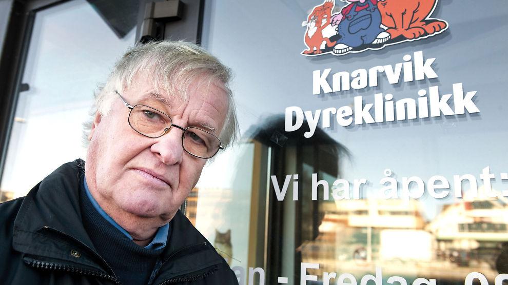 SEIRET: Dyrlege Dagfinn Berg (61) sto oppført med 1,45 millioner for mye i inntekt. Det førte til at han gikk til sak mot staten, og vant.