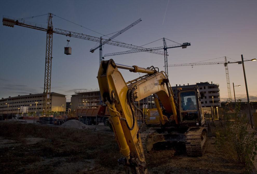 EIENDOMSKOLLAPS: Det spanske eiendomsmarkedet kollapset i 2007, og fortsatt risikerer spanske banker å ta tap etter byggeboomen.