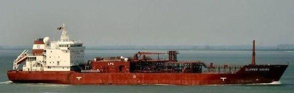 I IRAN: «Clipper Viking» hadde to anløp i Iran i fjor. Utenriksminister Jonas Gahr Støre er medeier i gassskipet.