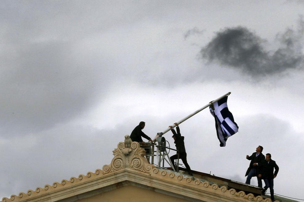 DEMONSTRASJONER: Det kan oppstå demonstrasjoner i både Hellas og Frankrike knyttet til valg. Også 1. mai er en risikofaktor, mener strateg.