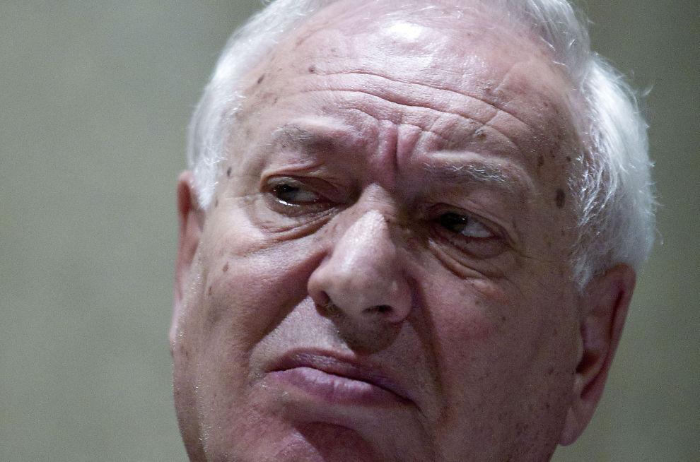 BEKYMRET: Spanias utenriksministser Jose Manuel Garcia-Margallo.