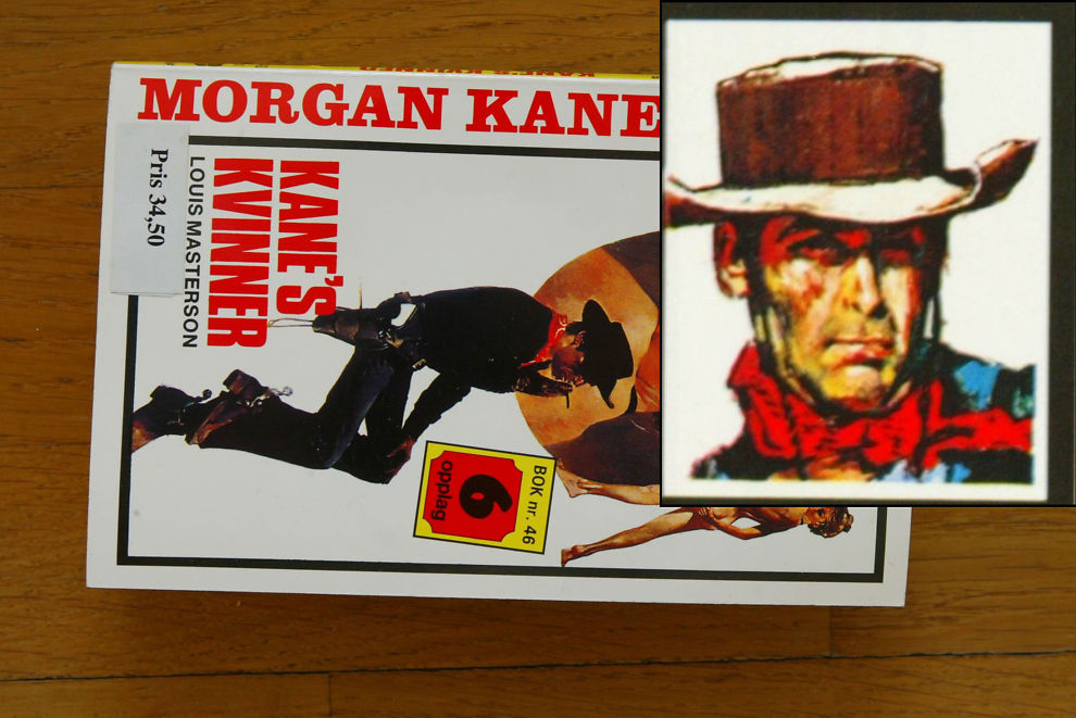 TRENGER 5 MILL: Den «norske» westernhelten Morgan Kane kan snart bli å se på lerretet.