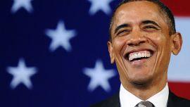 SKULLE MØTE OBAMA: Til flere medier fortalte Ahmed at han skulle møte Barack Obama. Ambassaen i Oslo sier at de ikke har kjennskap til noe slikt møte.