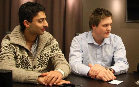 SAMMEN: Her er Waleed Ahmed og Flemming Bordoy sammen da Grønt Norge tok Norge med storm.