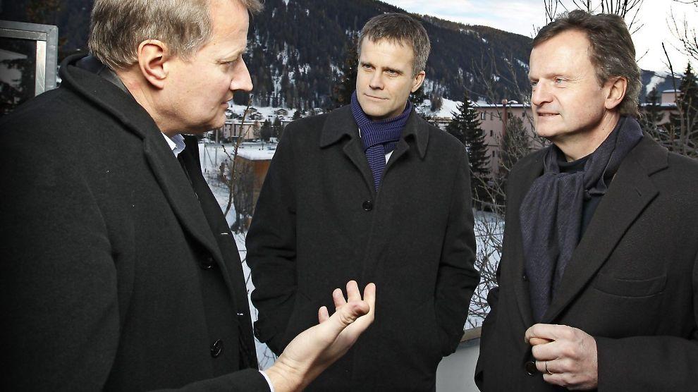 GODE INCENTIVER: DNB-sjef Rune Bjerke fikk i fjor utbetalt 6,7 millioner kroneri lønn og frynsegoder. Det er langt mindre enn det Statoil-sjef Helge Lund og Telenor-sjef Jon Fredrik Baksaas fikk.