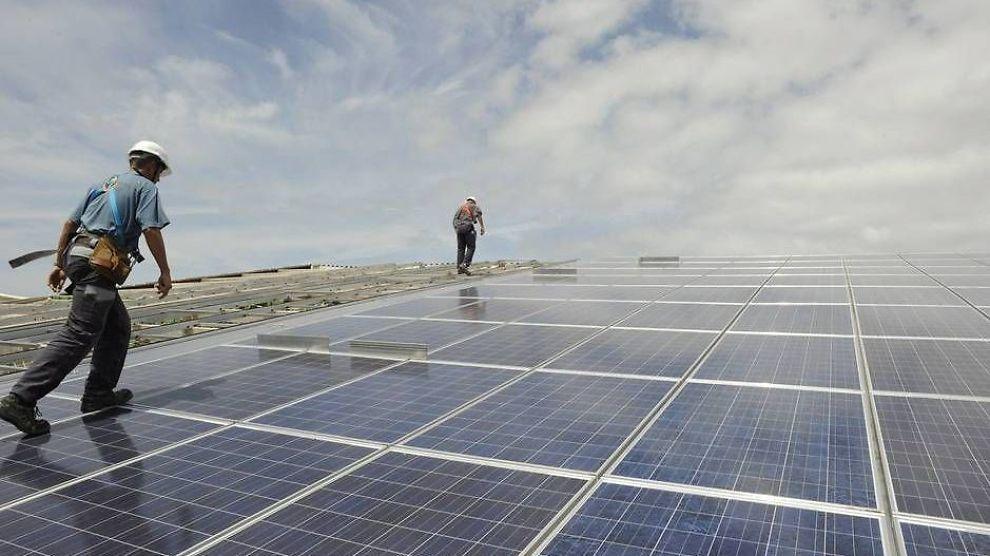 SOLKRAFT: Tyskland satser stort på fornybar energi.