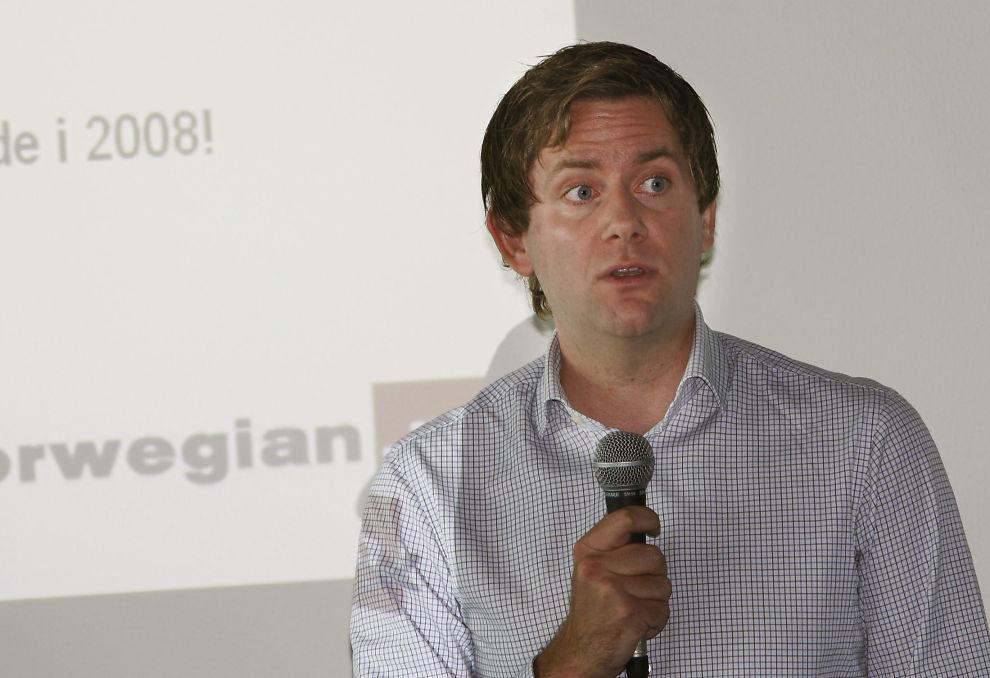 NY JOBB: Daniel Skjeldam er ansatt som ny konsernsjef i Hurtigruten.