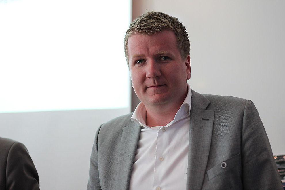 <b>SER FLATT:</b> Leder i Norges Eiendomsmeglerforbunds (NEF) Tormod Boldvik tror boligpristoppen er nådd - i alle fall for i år.
