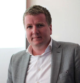<p>Norges Eiendomsmeglerforbunds (NEF) nye leder Tormod Boldvik</p>