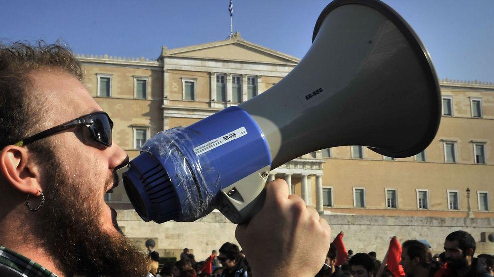 MØTER MOTSTAND: Grekerne ønsker lettelser i vilkårene for å få EU-penger, men det møter motstand i EU.
