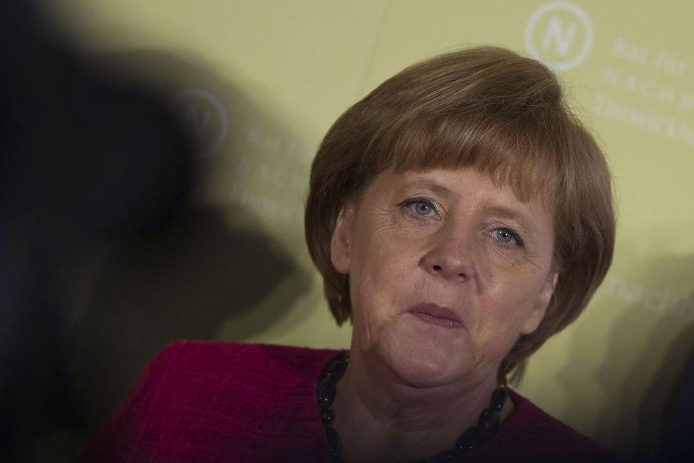 NOE Å TENKE PÅ: Kredittvurderingsbyrået Egan-Jones har gitt forbundskansler Angela Merkel noe å tenke på foran toppmøtet i EU senere i uken.