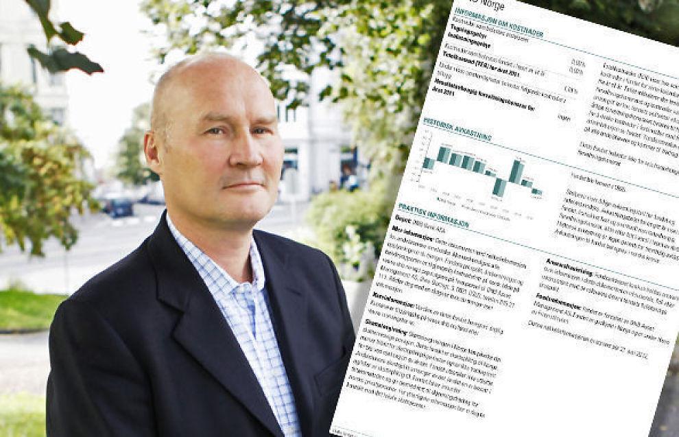 <p><b>Bedre beslutningsgrunnlag ved kjøp av fond:</b> Direktør Bernt Zachariassen i Verdipapirfondenes forening. Innfelt et eksempel på de nye fondsdeklarasjonene.</p>