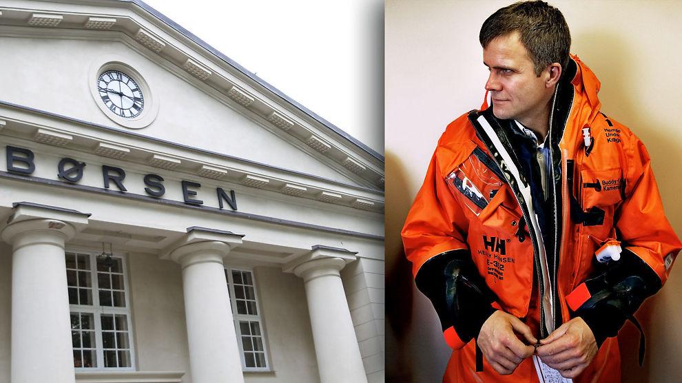 SENKET BØRSEN: Oslo Børs falt torsdag, det samme gjorde børslokomotivet Statoil - og konsernsjef Helge Lund.
