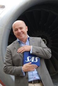 <p><b>UHELDIG:</b> SAS-pressekontakt Christian Kamhaug synes det er dumt at Ryanair kan ignorere norske påslag uten sanksjoner, og mener spillereglene bør være like.</p>