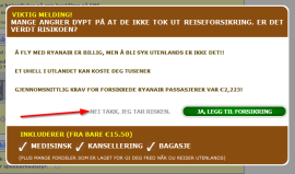 """<p><b>Dette er en knapp</b>! «Hvorfor vil dere lure meg, Ryanair?» <a href=""""http://www.dinepenger.no/article/20252536"""">skriver redaksjonssjef Carsten Pihl i denne kommentaren</a> som tar for seg Ryanairs nettbestilling.</p>"""