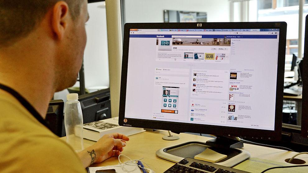 SOSIALE MEDIER: 57 prosent av næringslivslederne svarer i en ny undersøkelse at de vil bruke sosiale medier for å tiltrekke seg nye ansatte.