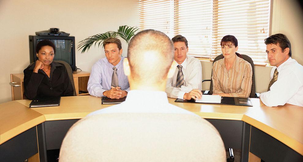 presentasjon av seg selv jobbintervju