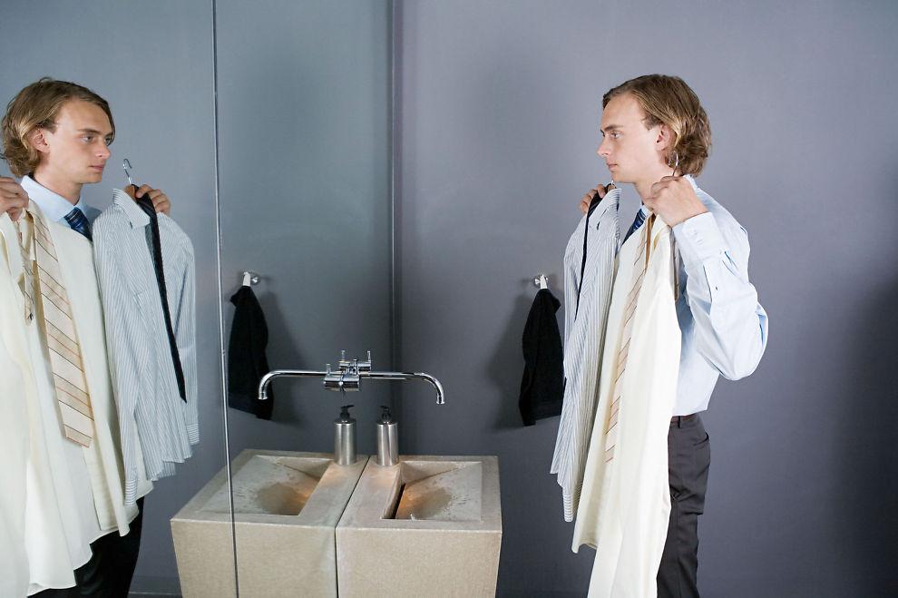 <p><b>VALGETS KVALER:</b> Er det hvite skjorter som gjelder i bedriften du vil jobbe for, eller blir det for stivt? Dersom du ikke aner hva du skal ha på deg, er det ingenting i veien for å ringe og spørre før jobbintervjuet, ifølge ekspertene. <br/></p>