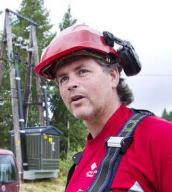 <p>Telemontør Bjørn Ingar Sønsthagen (46)</p>