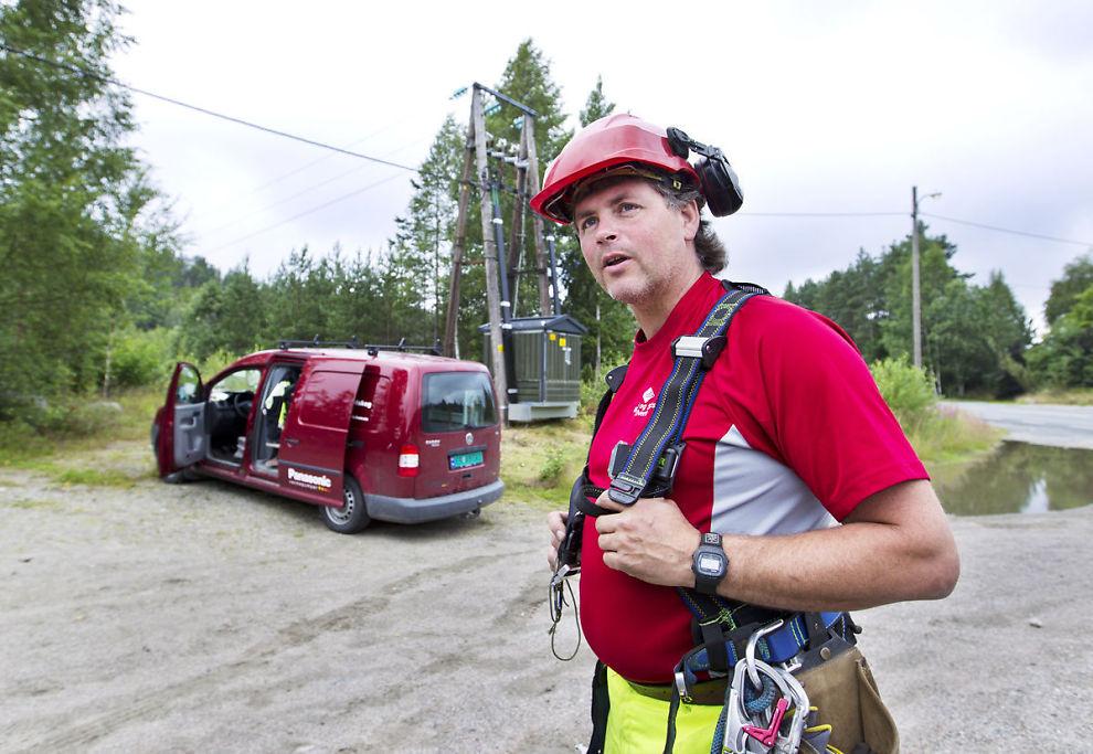<p><b>Tilbake på topp:</b> Telemontør Bjørn Ingar Sønsthagen (46) var plaget med hjerteflimmeranfall, og ble først forespeilet et halvt års ventetid. Med jobbens private helseforsikring ble han operert på to og en halv måned.</p>