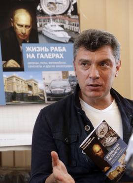 <p>Opposisjonspolitiker Boris Nemtsov har skrevet boken om Putins luksusliv «The Life of a Galley Slave».<br/></p>