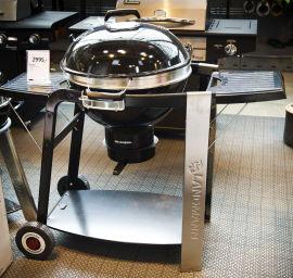 <p><b>GRILLBILLIG:</b> Også grill kan kjøpes til en billig penge akkurat nå. Denne kulegrillen fra Landmann er satt ned fra 2995 til 2096 kroner hos Maxbo.</p>