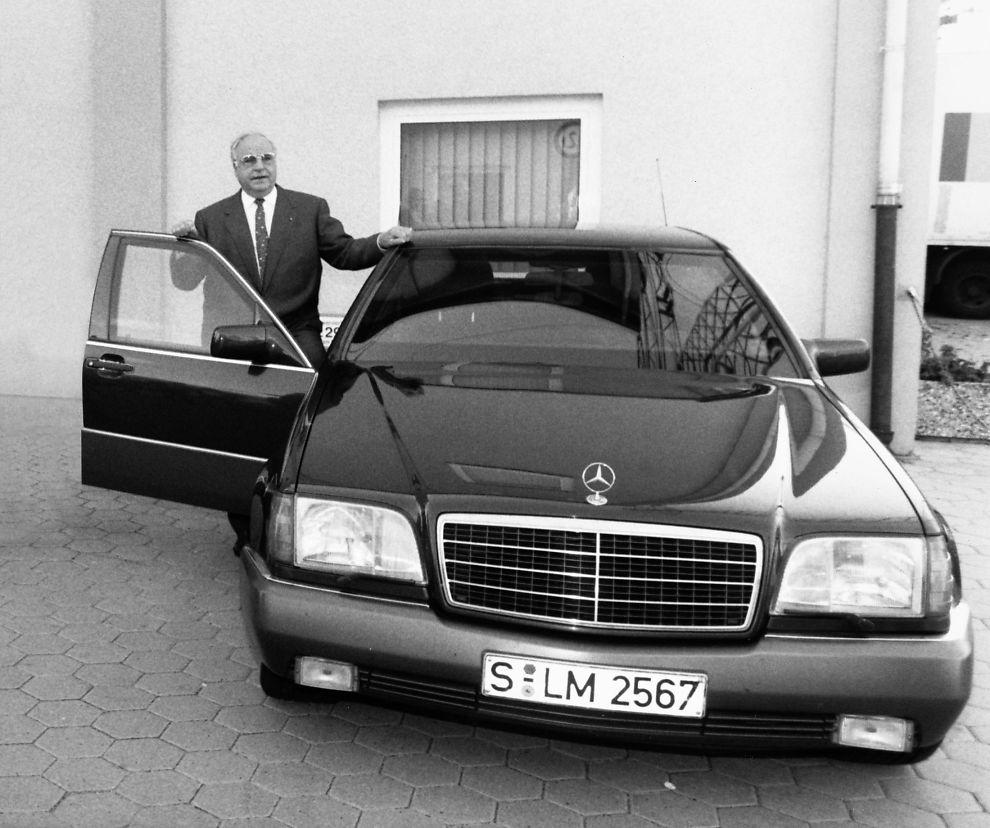 1993 Mercedes Benz 300 Se Camshaft: Mercedes-Benz S-klasse: 40 år Med Luksus