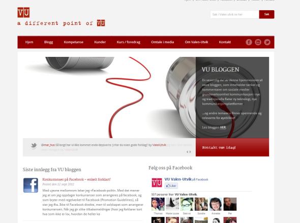 """<p>Konsulentfirmaet <a href=""""http://www.valen-utvik.no"""" target=""""_blank""""><b>Valen-Utvik</b></a> har nettsider på Wordpress</p>"""
