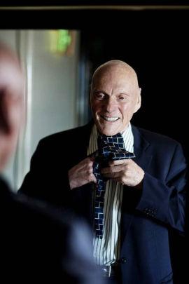SLIPSFIN: Drømmen om å være velgjører for menneskeheten og for forskning startet allerede da Fred Kavli var 18 år.