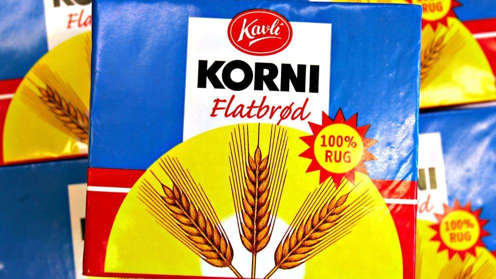<p><b>BLIR UTENLANDSK:</b> Kavli flytter produksjonen av Korni, og andre flatbrød og kjeks, til utlandet.<br/></p>