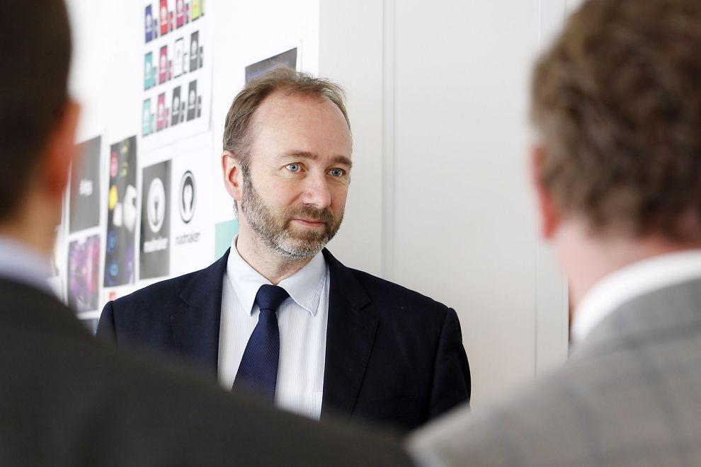 <p><b>KOMMENTERTE VENNENS TOPPJOBB:</b> Nærings- og handelsminister Trond Giske.</p>