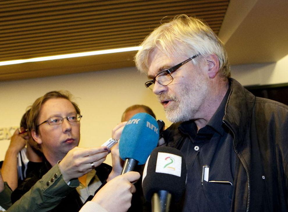 <p><b>HARM:</b> Forbundsleder i Industri Energi Leif Sande var lite fornøyd da daværende arbeidsminister Hanne Bjurstrøm stanset oljekonflikten med tvungen lønnsnemnd i sommer.</p>