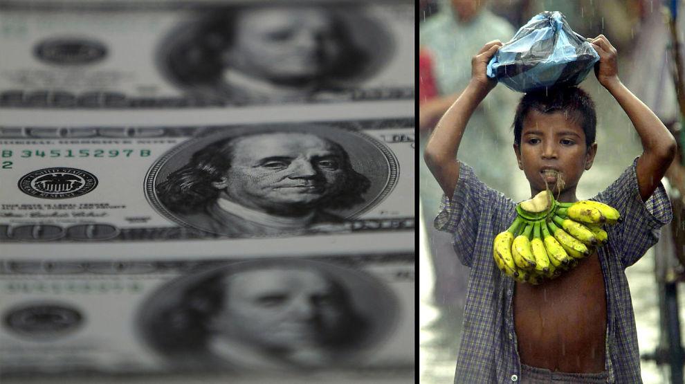 <p><b>DOLLAR OG BANANER:</b> Hvor mange bananer er en dollar verd?</p>