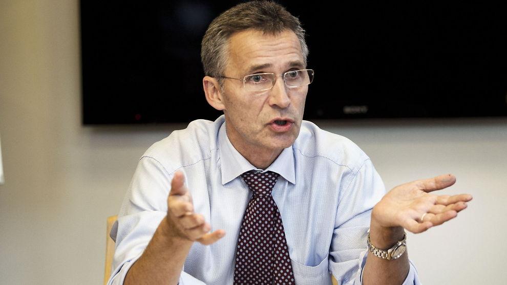 <p><b>IKKE PÅ TOPP:</b> Statsminister Jens Stoltenberg kommer på tredjeplass over inntektslisten til regjeringsmedlemmene.<br/></p>