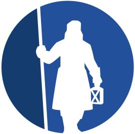 <p><b>NY LOGO:</b>Slik blir den nye logoen til forsikringsselskapet. Færre detaljer skal gjøre logoen mer anvendelig på nett. Bruk av to blåfarger skal gi den mer liv, og sirkelformen skal gjøre den vennligere.<br/></p>