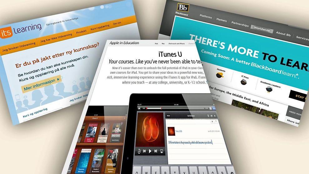 <p><b>UTFORDRINGER:</b> I de siste par årene har det skjedd en rivende utvikling av løsninger og tilbud innen utdanning på internett.</p>