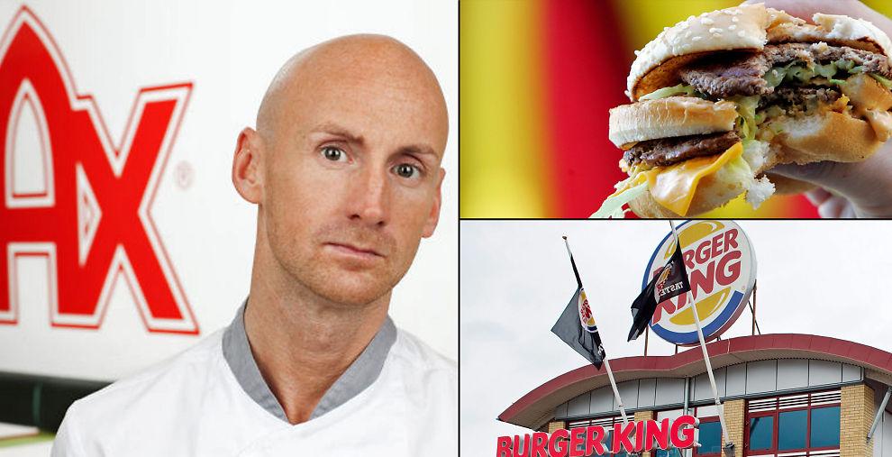 <p><b>SVERIGES BURGERKONGE:</b> Familieselskapet Max har stått stødig i konkurransen med amerikanske burgerkjeder i snart 40 år. Derfor er det lite frykt å spore hos Richard Berfors i møte med ambisiøse Burgerking.</p>