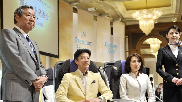 <p><b>YDMYK:</b> Konsernsjef Haruka Nishimatsu i Japan Airlines tok harde grep om egne vilkår da han forsøkte å redde flyselskapet i 2008.</p>