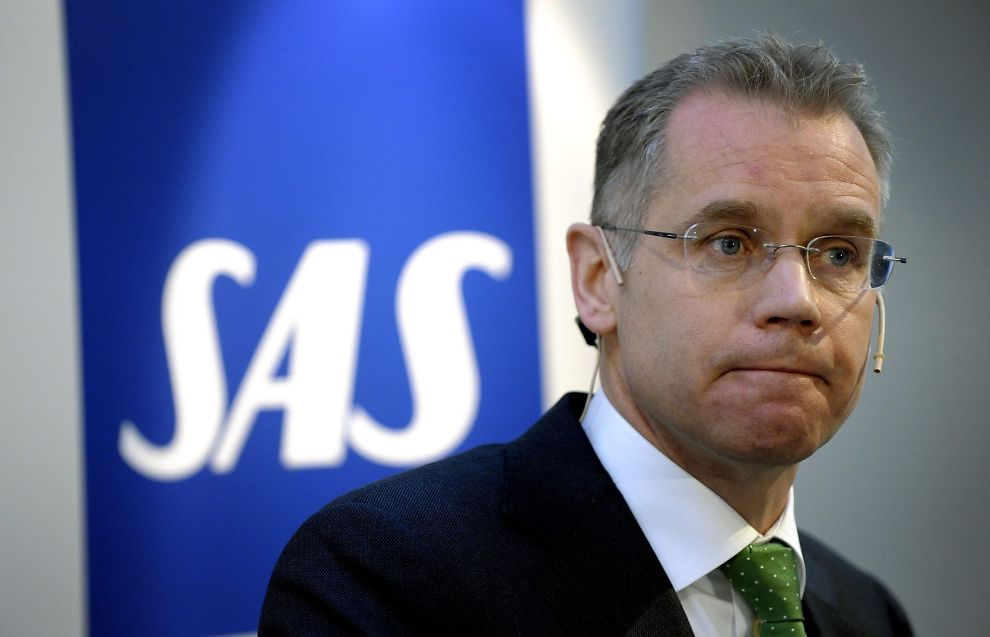 <p><b>RYKTEFLOM:</b> Det er ventet at SAS-sjefen Rickard Gustafson kommer til å presentere kuttplaner og fortelle om utsiktene fremover mandag morgen.<br/></p>