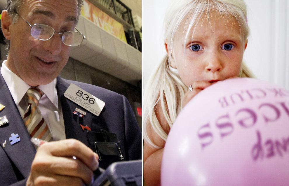 <p><b>SKILT VED FØDSELEN:</b> Ballonger og markeder oppfører seg på samme måte mener artikkelforfatteren.</p>