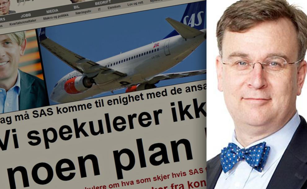 <p><b>HAN SVARER</b>: BIs Espen Andersen har fulgt SAS tett i en årrekke. Fredag klokken 1430 svarer han deg på det du måtte lure på om flyselskapet.<br/></p>